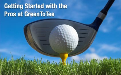 Getting Started with the Pros at GreenToTee